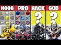 SUPER TRANSFORMERS BATTLE CRAFTING CHALLENGE MINECRAFT NOOB VS PRO VS HACKER VS GOD