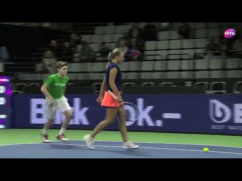 2017 Biel Quarterfinal | Anett Kontaveit vs Elise Mertens | WTA Highlights