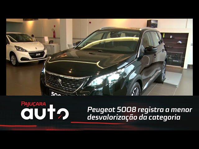 Auto Dica:  Peugeot 5008 registra a menor desvalorização da categoria