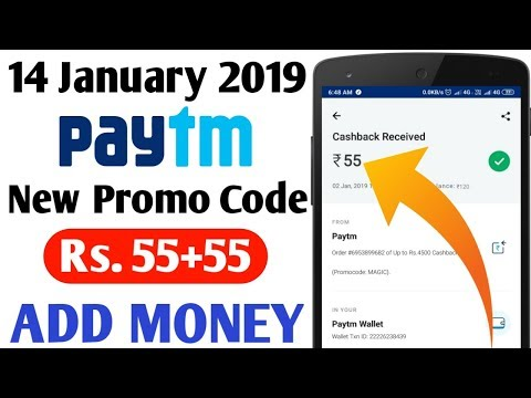 Paytm New Add Money Promo Code || Paytm Today Best Offer || Paytm Today Add Money offer || 2019