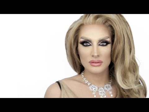 DRAG QUEEN MAKE UP - مكياج مايا دياب Maya Diab / Brooke Shields Arabic Drag Queen Inspired