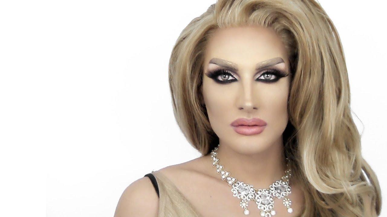 Drag Queen Make Up مكياج مايا دياب Maya Diab Brooke