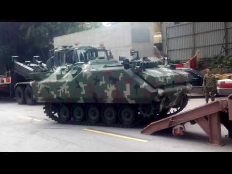 Malaysia Army Vehicles in Muzium Negara.