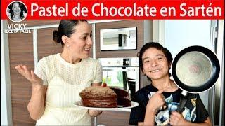 Pastel de Chocolate en Sartén | Vicky Receta Facil