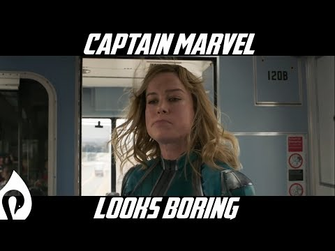Captain Marvel Looks Boring...