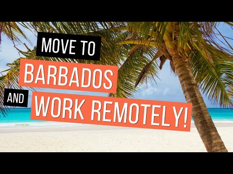 How To Work Remotely in Barbados for ONE YEAR! | Barbados Welcome Stamp Program