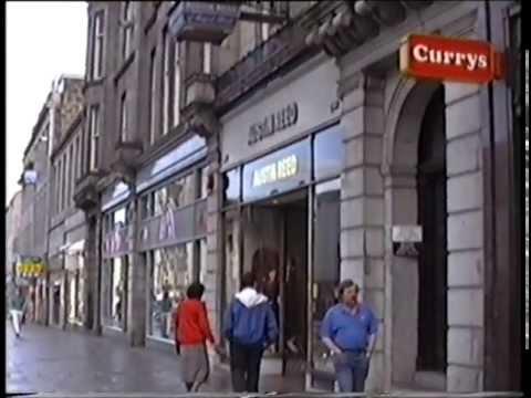 Aberdeen, Union Street Shops, 1991