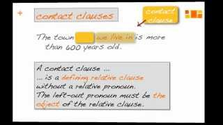 Defining and non-Defining Relative Clauses (part 3)