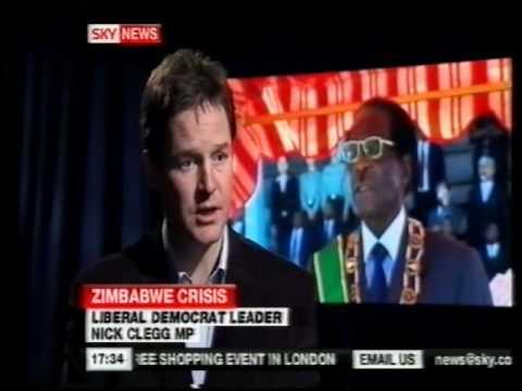 Unity Govt & Cholera: Lance Guma on Sky News (Dec 08)