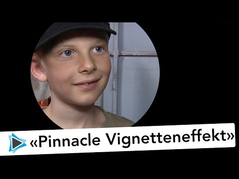 Pinnacle Studio 20 Deutsch Video Tutorial Vignetten Effekt Abspann mit Kreis Ausblenden