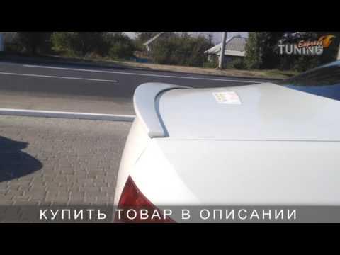 Спойлер на Фольксваген Поло 5 седан. Задний спойлер на Volkswagen Polo 5. AOM Tuning. Тюнинг обзор.