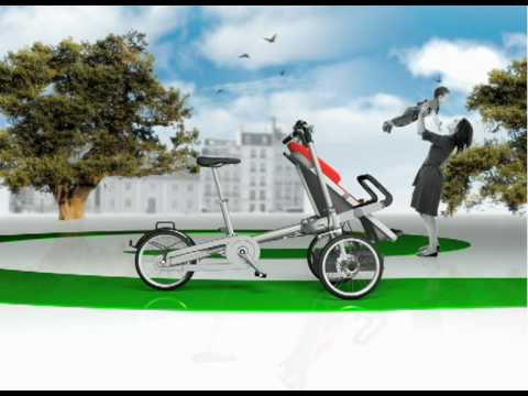 Taga bike / stroller - Official video - YouTube