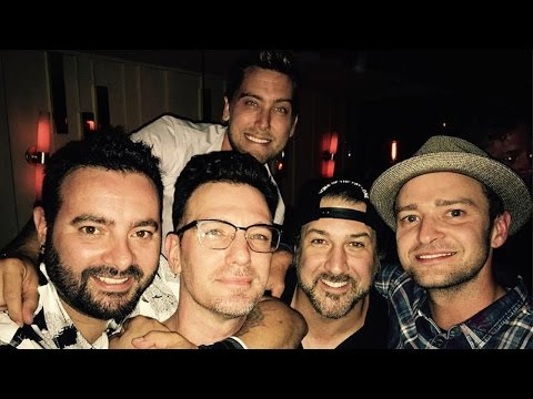 'NSYNC Reunites For JC Chasez's Birthday & Sing Together