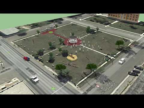 Veterans Park Proposed Gazebo and Walkway, Cotulla, Texas