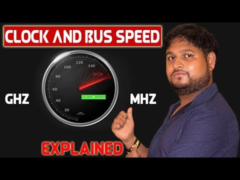 What Is Clock Speed And Bus Speed | How Clock Speed Speeds Up Your Computer | Computer Bottleneck ✔
