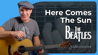 How to play Here Comes The Sun | The Beatles Guitar Lesson