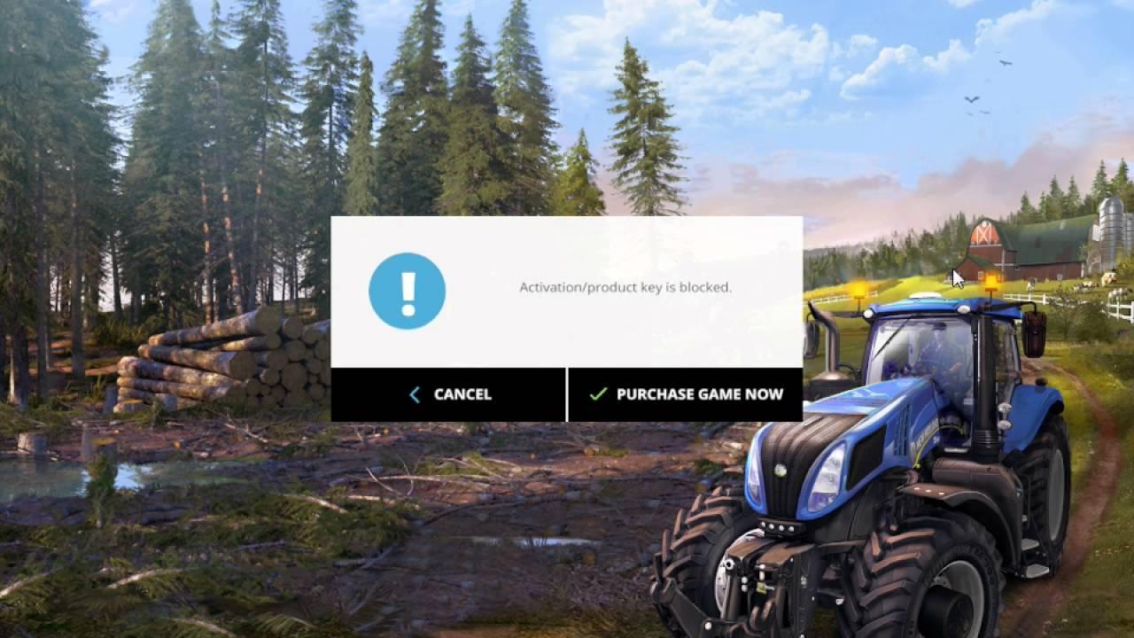 farming simulator 2015 activation product key is blocked