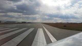 Take off from Greensboro piedmont triad international airport with Delta airlines - HD thumbnail