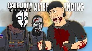 call of duty ghosts alternate ending cartoon parody
