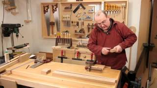 Build A Solid Oak Hall Table: Part 3