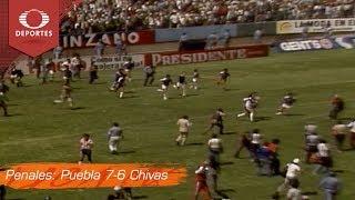 Futbol Retro: Final Puebla vs Chivas 82-83 | Televisa Deportes