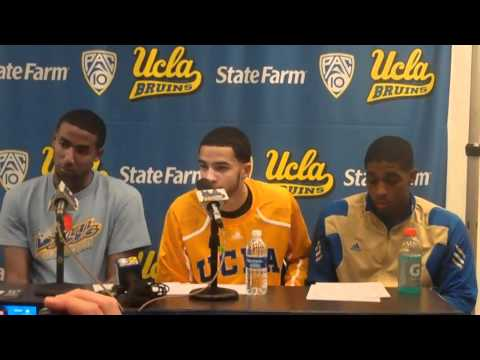 Malcolm Lee, Tyler Honeycutt and Lazeric Jones after Stanfor