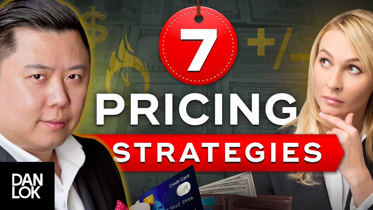 7 Pricing Strategies - How To Price A Product