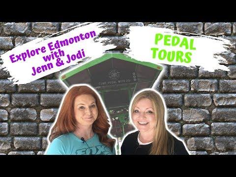 Explore Edmonton With Jenn & Jodi - Pedal Tours (Beer Bike)
