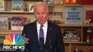 Biden Sells Build Back Better Agenda: 'Tt's Time For Us To Invest In Ourselves'