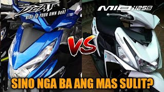 Honda Beat (Premium) vs. Yamaha Mio i125s | Tagalog Comparison | Philippines