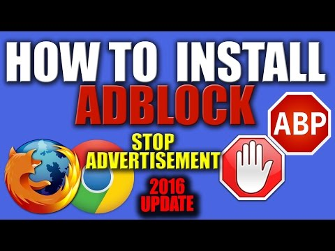 How to Install Free AdBlocker for Google Chrome or Firefox 2016 - Get AdBlock free for Chrome