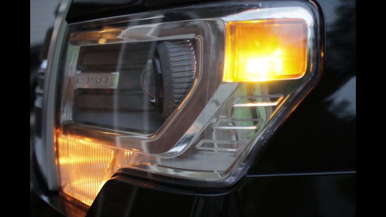 2009 14 F150 Led Front Marker Lights Install F150leds Com