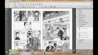 Split Two-page-view PDF file for Tablet with Adobe Acrobat Javascript - 使用JavaScript 分割PDF文件