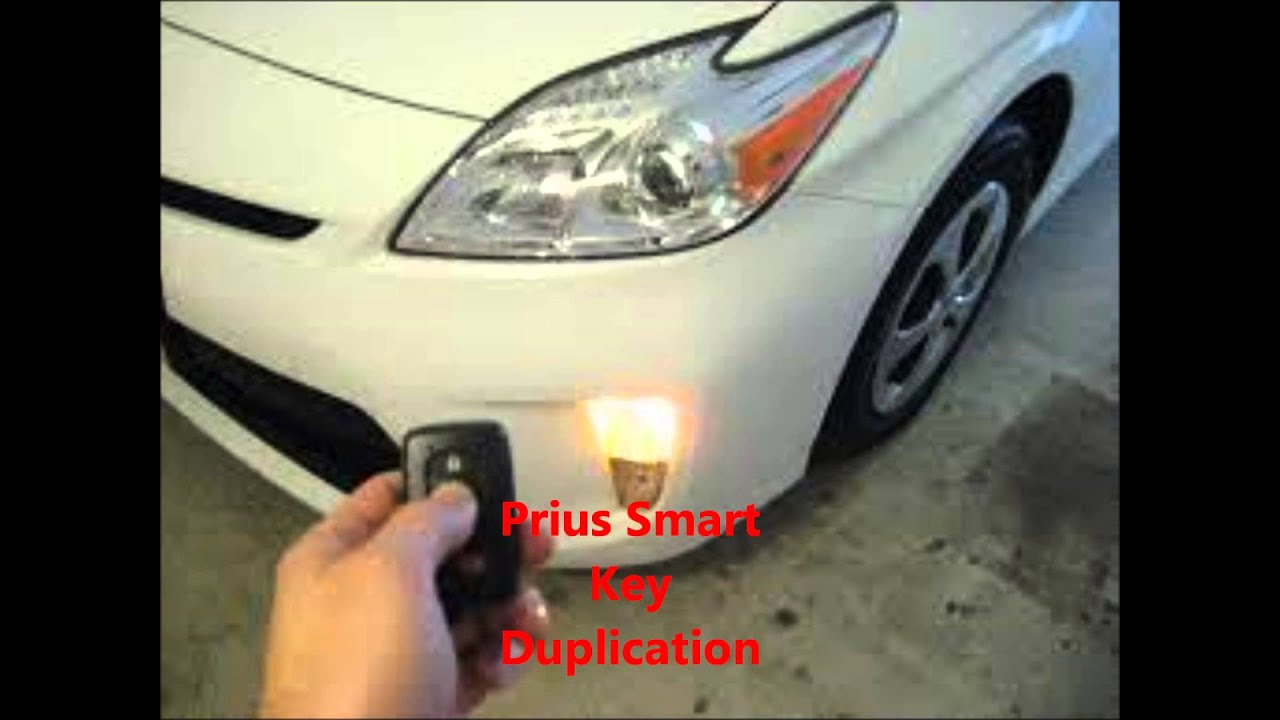 Toyota Prius Smart Key Replacement 516-629-9007 Smart Key ...