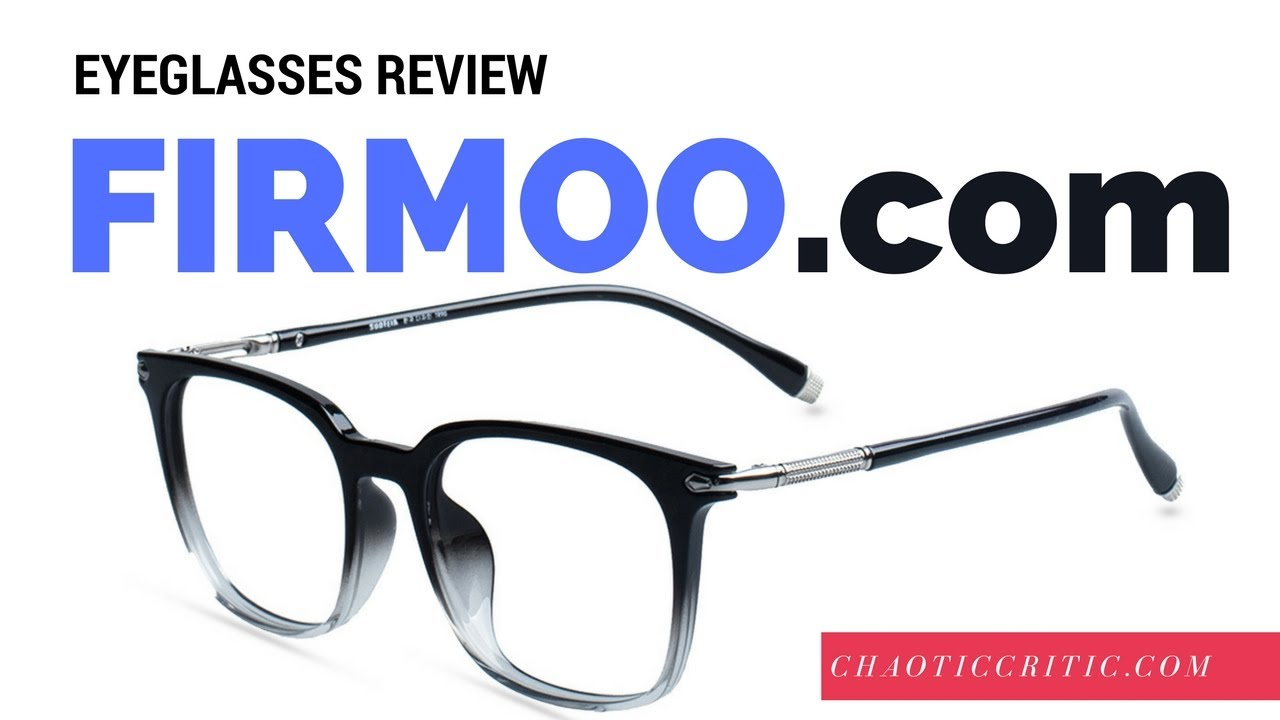 dba9065cb5c Firmoo Glasses Review - YouTube