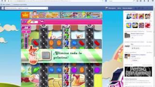 Cheat engine 6.3 en Candy Crush Saga 2014