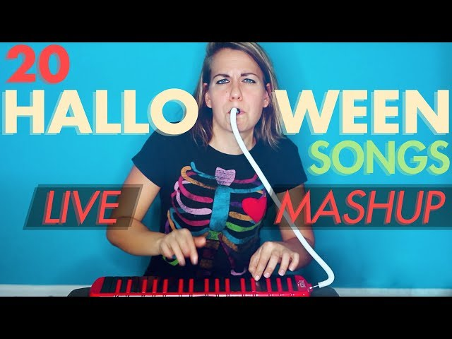 20 Song Halloween MASHUP (Melodica!)