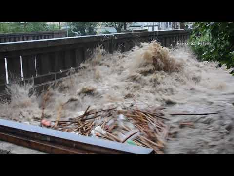 Flooding Consumes Central Schuylkill County, Pa. - 08/13/2018