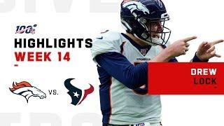 Drew Lock Sends Texans Packing w/ 309 Yds & 3 TDs | NFL 2019 Highlights