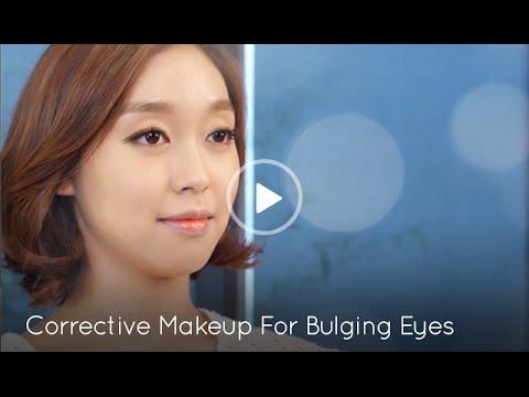 [Korean Beauty] Corrective makeup for Bulging Eyes