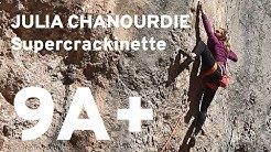 Julia Chanourdie enchaine Supercrackinette 9a+ à Saint Léger du Ventoux - Team Climb Up-