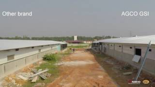 GSI modern poultry house side wall comparison