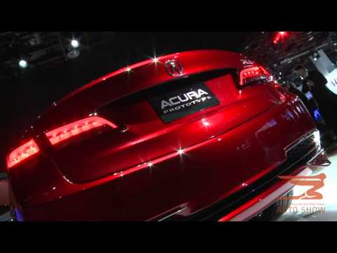 Acura 2015 TLX Prototype Unveiled at 2014 North American International Auto Show in Detroit