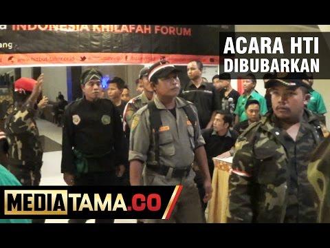 Banser NU Bubarkan Acara Hizbut Tahrir di Kota Semarang