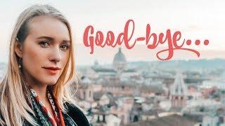 Goodbye Italy / Arrivederci Italia...