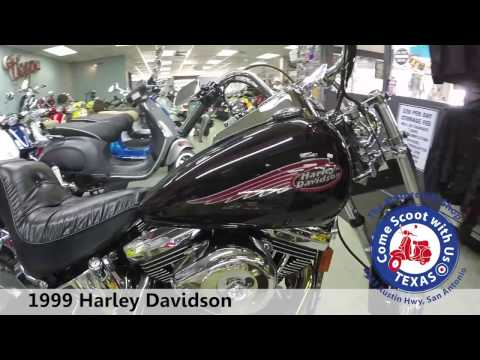 1999 harley davidson soft tail motorcycle for sale