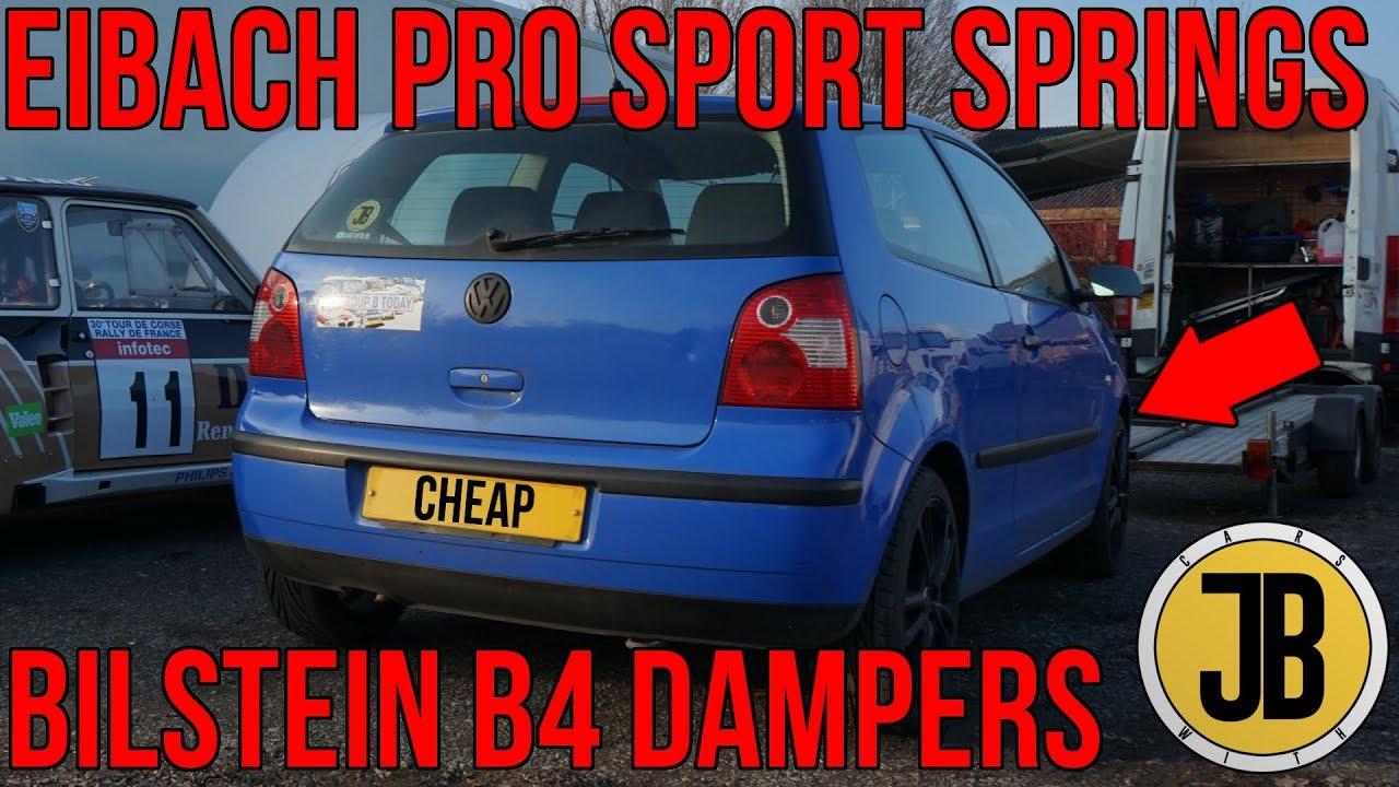 Volkswagen Lupo 1.0 LOWERING SPRINGS 40mm **REARS**
