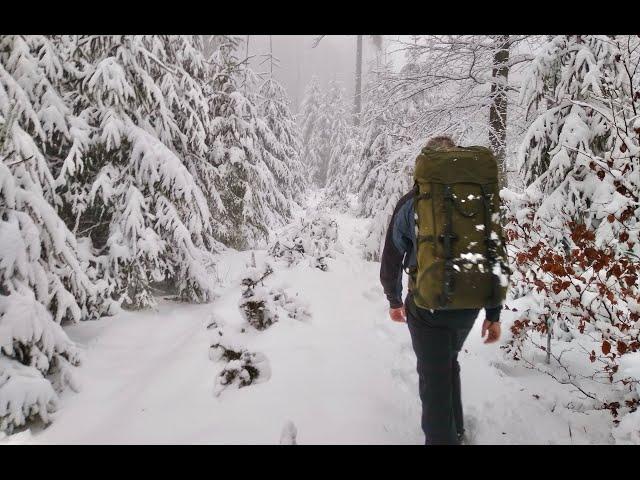Wintertour im Vogelsberg! Drei Tage bei Schnee und Kälte unterwegs - outdoor-life-