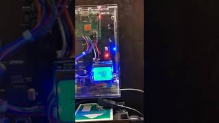 Raspberry Pi 3b+ with Nokia lcd and sata 3.5 Inch disk shield