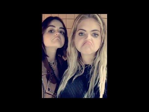 Ashley Benson | Snapchat Videos | June 29th 2016 | ft Lucy Hale